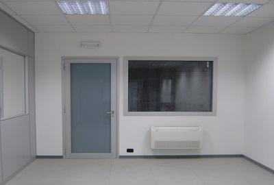 Screenoffice screen office moduli vetrati e porte per - Porte in cartongesso ...